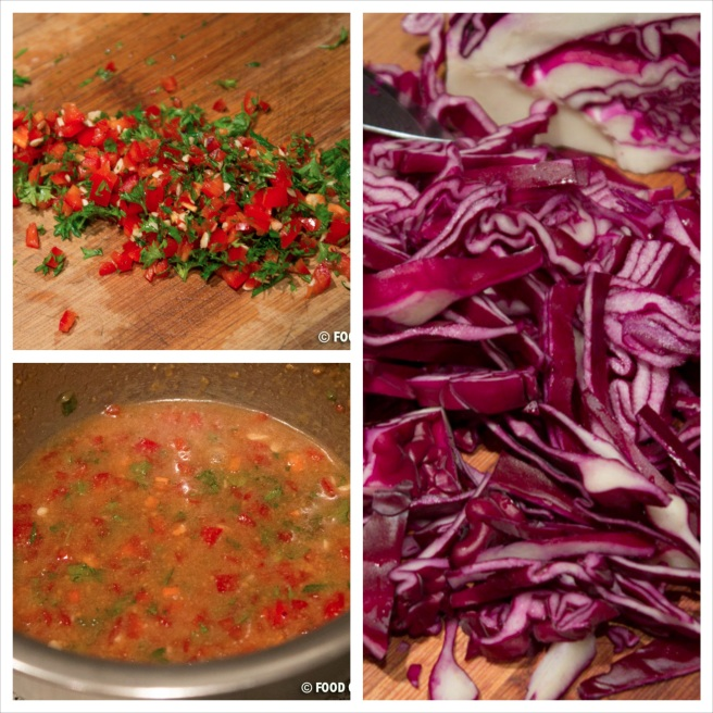 Red Cabbage Salad with Peanut Butter Sauce 1_Fotor_Collage