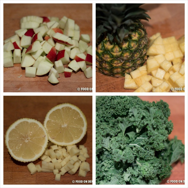 Pineapple and Kale Juice 1_Fotor_Collage